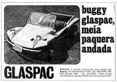 Planeta Buggy - Publicidade Glaspac