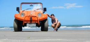 Como tirar uma boa foto de um buggy - natureza e enquadramento