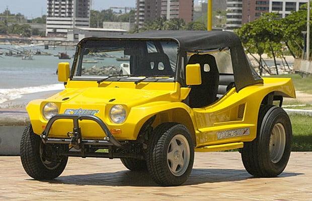 Buggy Fyber amarelo