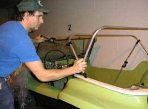 Fazendo uma capota conversível em um buggy