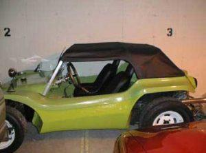 Uma capota conversível de verdade em um buggy!