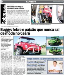 Jornal Expresso - Fortaleza-CE, Abril de 2010