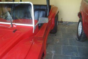 Espelho de moto no buggy