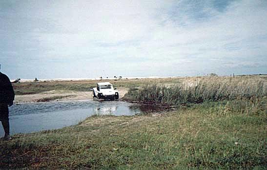 Foto do mês. Buggy no litoral do Rio Grande do Sul. Passeio Pelotas/Tramandaí 2004