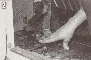 Restaurando a pedaleira do buggy.Soltando o cabo da embreagem