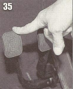 Restaurando a pedaleira do buggy.Folga da embreagem