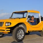 Buggy Selvagem, classificado como Fiberglass Dune Buggy