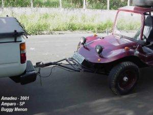Cambão tipos e usos - Buggy acoplado com segurança