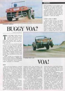 Buggy na imprensa - Revista Motor 3