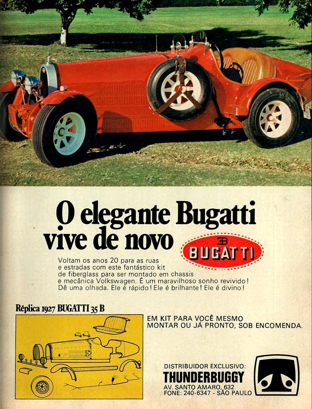 Bugatti fabricada pela Tander