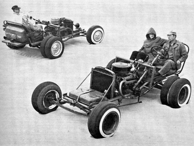 Buggy deve ter motor traseiro? Os buggistas dos anos 50 tentavam chegar no equilíbrio perfeito.