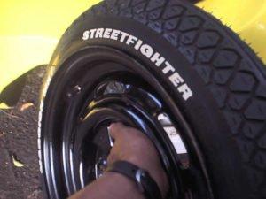 Estepe para buggy com pneu de Biz
