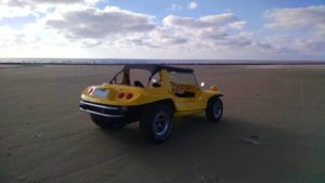 Mais praia do Cassino de buggy