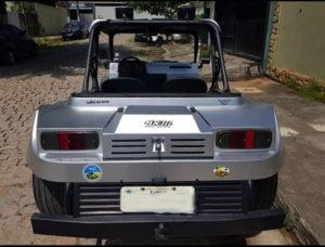 Parachoque traseiro do Buggy BRM