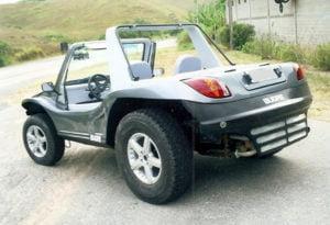 Parachoques em buggy - Bugre V