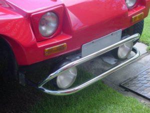parachoque do buggy cauype em aço inox
