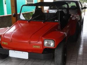 Parachoque dianteiro do Buggy Toy, em fibra
