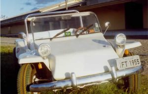 Parachoques em buggy - Fusca