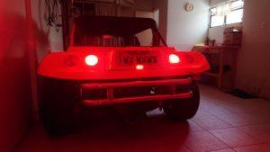Customizando o Buggy - terceira luz de freio