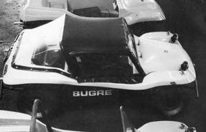 Buggy Bugre I na fábrica - década de 70