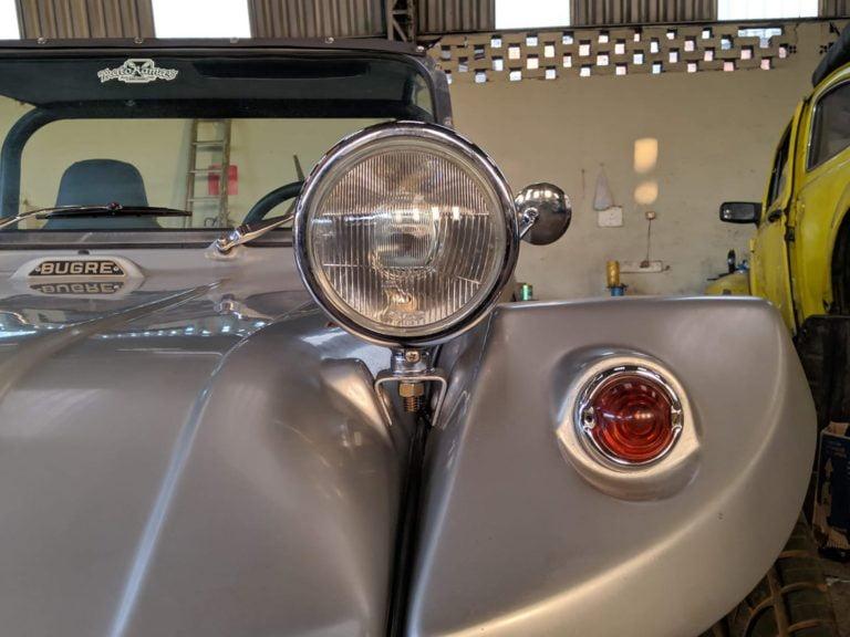 Suporte do farol do buggy Bugre II