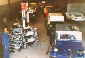 M6 e M7 na fábrica