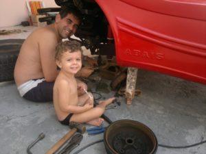 Buggy Abais Ricardo Torres na Garagem do Planeta