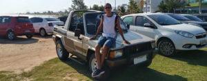 Tanger Cabriolé 1991 – Um carro de uso! – André Luiz