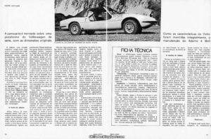 Buggy Adamo - Revista 4Rodas