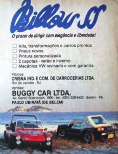 Buggy Billow – Rio de Janeiro