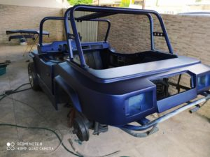 Reforma do Buggy Magnata - Pintura