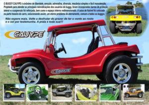 Folder do Buggy Cauype do Ceará - Planeta Buggy