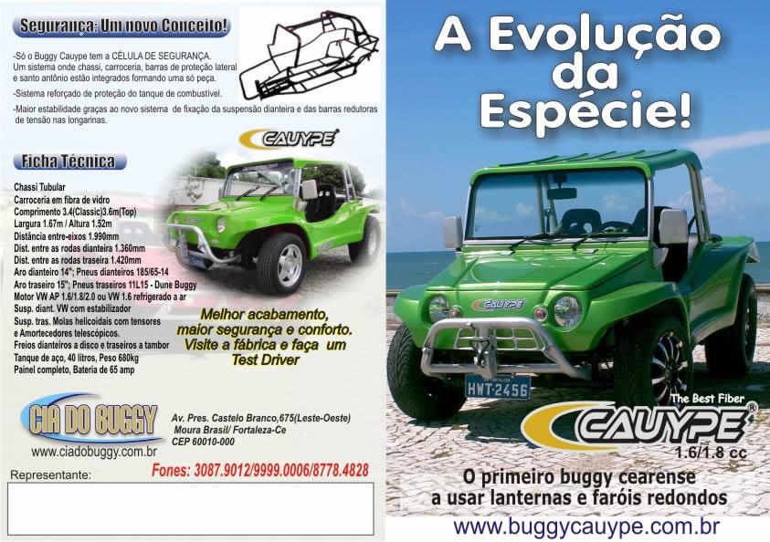 Buggy Cauype de Fortaleza-CE