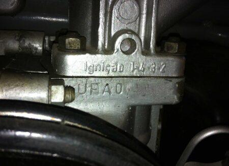 Número do motor boxer