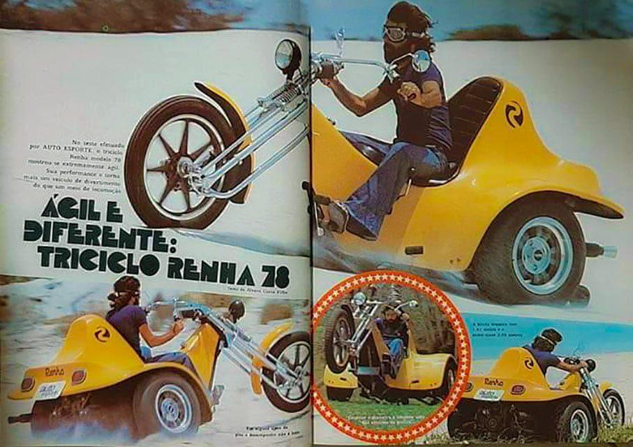 Triciclo Renha - AutoEsporte 159