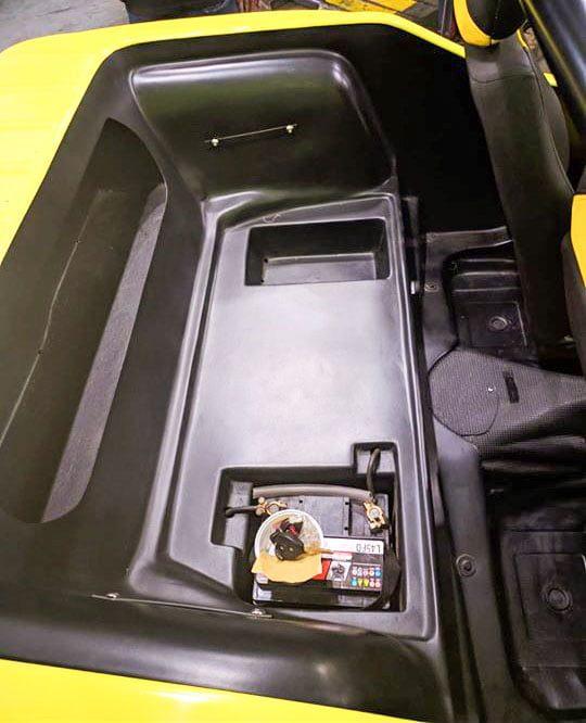Análise do Bugre - sob o assento traseiro